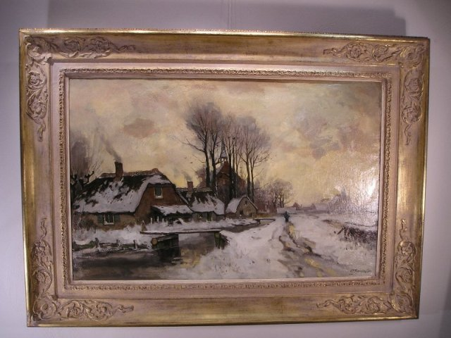 G J Roermeester - Winter bij noorden