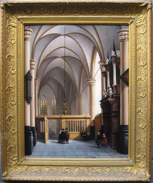 Jan Cornelis Hofman - Kerkinterieur