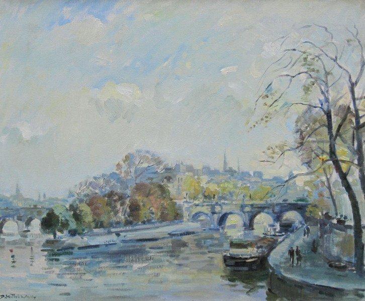 Daan Muehlhaus - Voorjaar in Parijs
