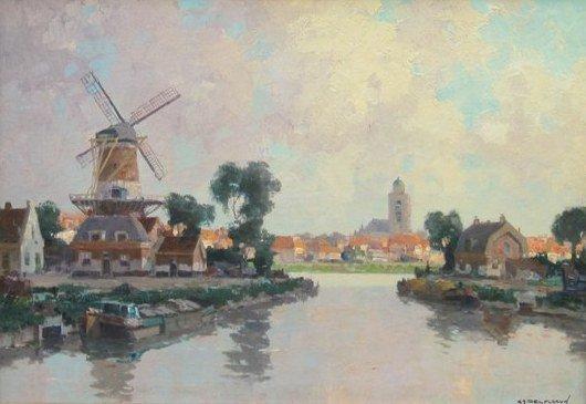 Gerard Delfgaauw - Stad aan het water
