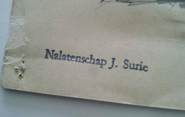Jacoba Surie - Amsterdamse joffer: Naaktstudie