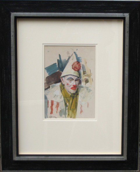 Jo Bauer-Stumpff - Pierrot (verkocht)