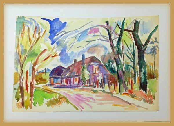 Freek van den Berg - Expressionistische Boerderij