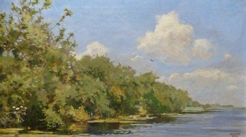 Johan Briede - Zomerse dag aan het Naardermeer