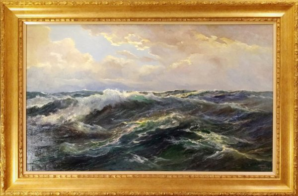 Meeuwis van Buuren - Zeegezicht