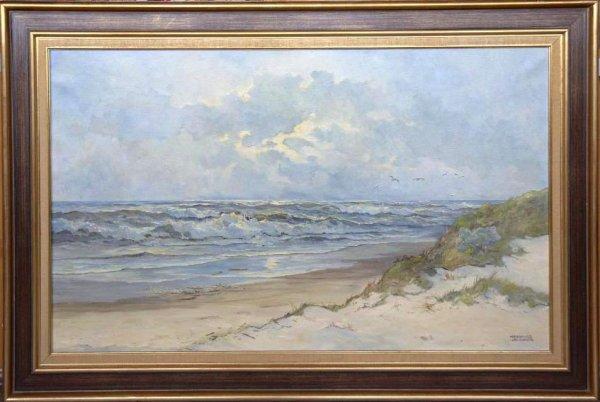Meeuwis van Buuren - Strand- en zeegezicht