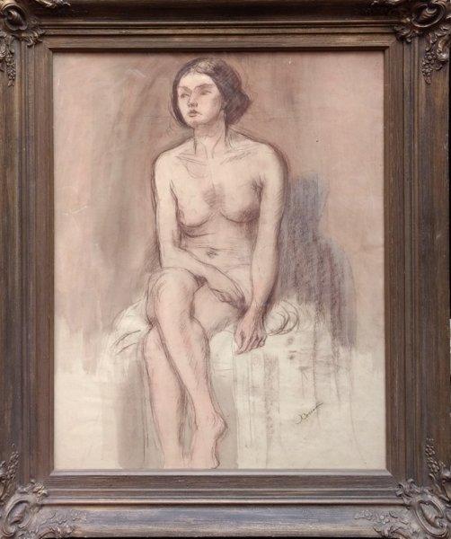 Jan  (roepnaam Ko) Cossaar - Vrouwelijk naakt