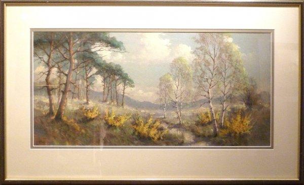 Gerard Cox - 'Heidelandschap'