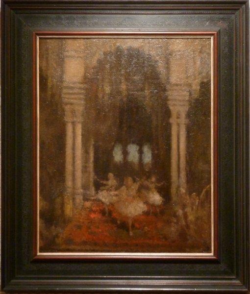 Henri van Daalhoff - 'Mystiek Ballet'. Een geheimzinnig schilderij met zeer bijzonder licht