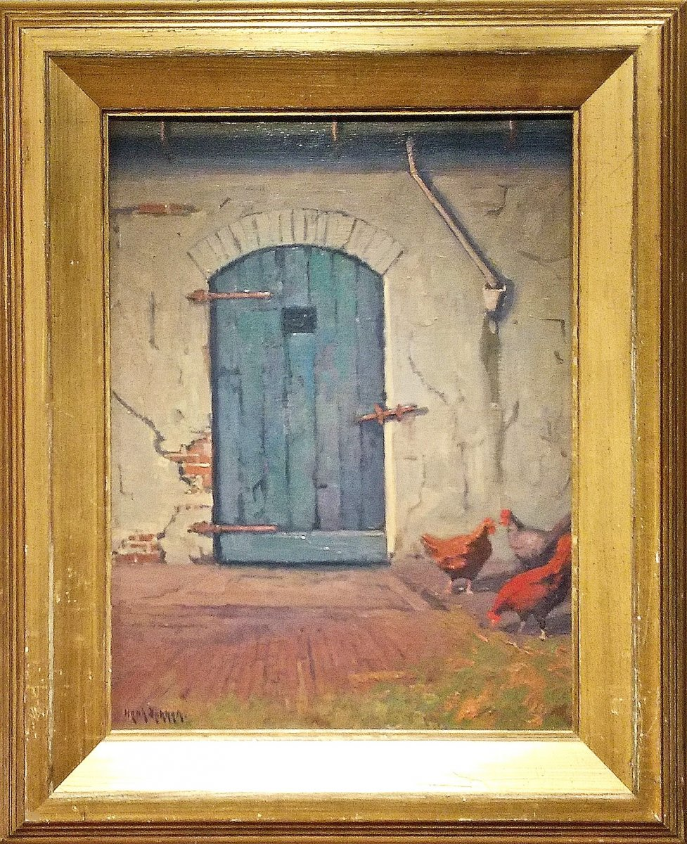 Henk Dekker - 'De geheimzinnige deur'