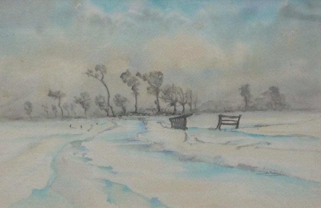 Johann Faber (De Ploeg) - 'Sneeuw nevel'