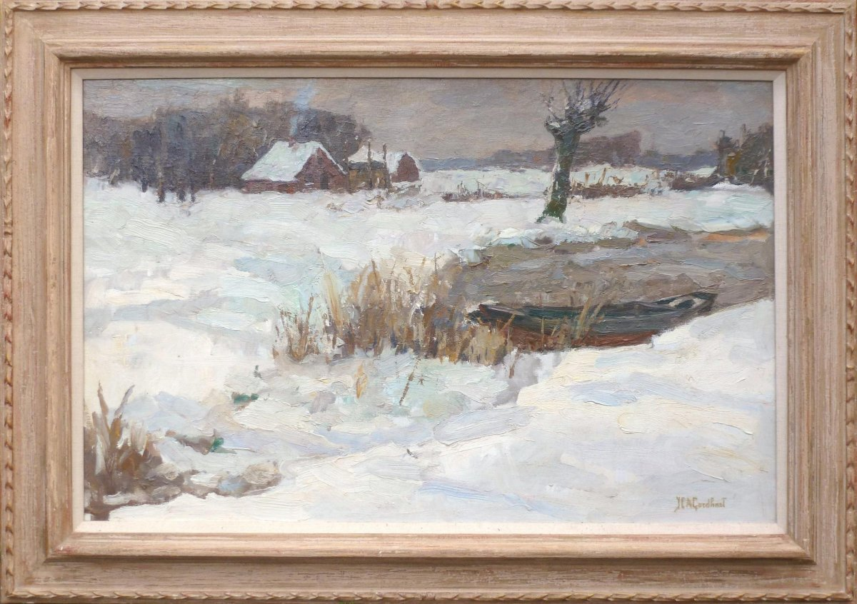 Jan Catharinus Goedhart - Winterlandschap