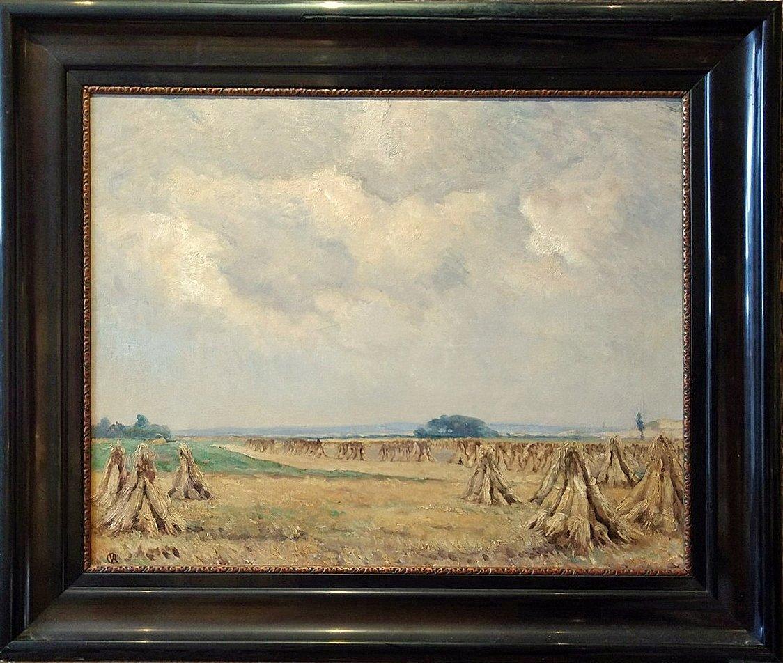 Johannes Mattheus Graadt van Roggen - Wijds korenveld bij Kootwijk (G)