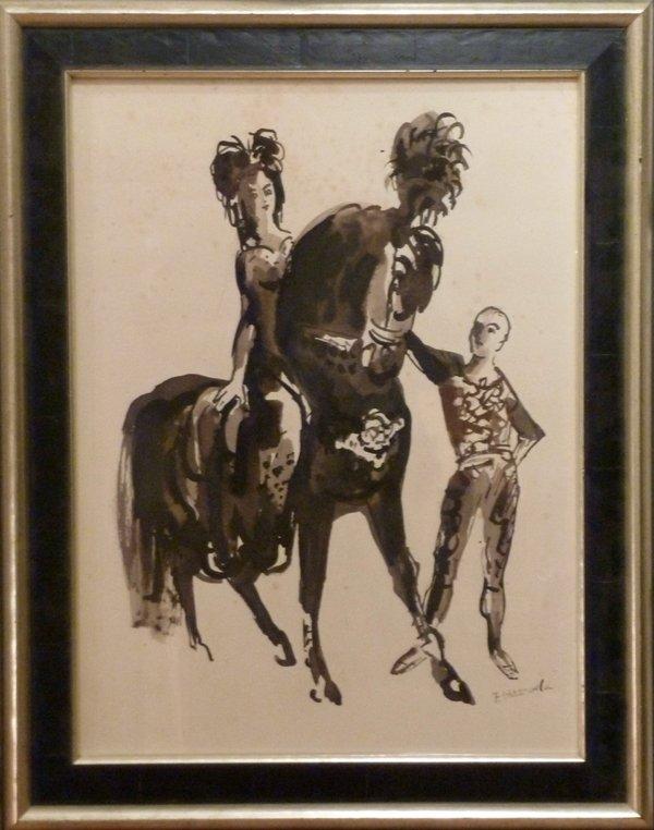 Frans Hazeveld - 'In het circus'