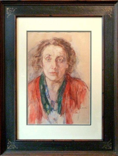 Barbara van Houten - Vrouwenportret