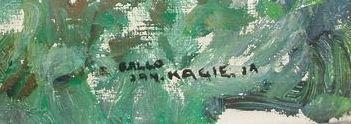 Jan Kagie - Gezicht op Ballo