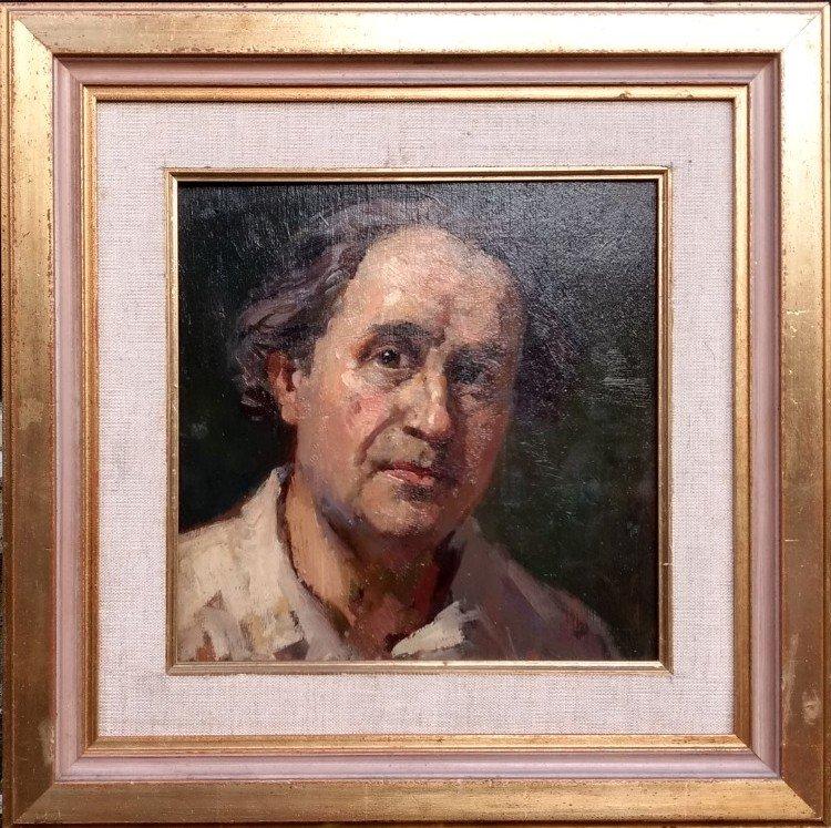 Henk van Leeuwen v.o. - Zelfportret en Zuidelijk stadsgezicht