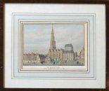 Diverse oude gravures en litho's van Groningen.