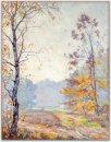 'Zonnige Herfstmorgen' op de Larense heide