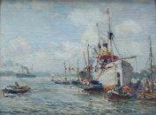 Vroeg  havengezichtje