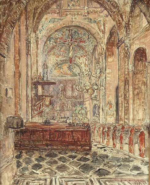 Henri van Os-Delhez - Sint Pancratiuskerk te Heerlen