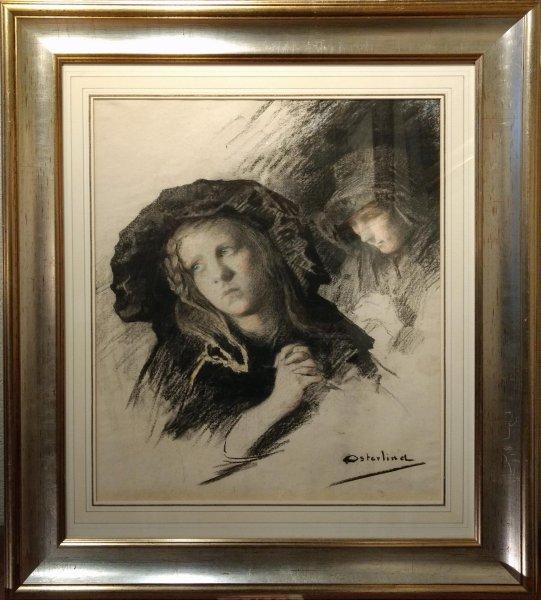 Allan Oesterlind - Portretstudies