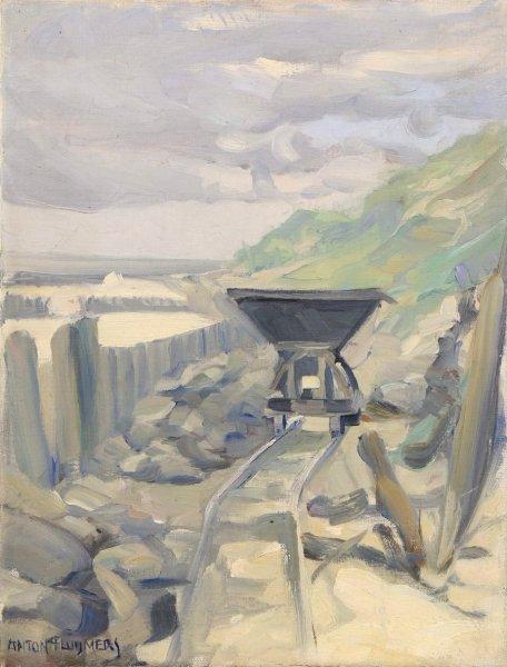 Toon  (Antonie Bernardus) Pluijmers - Industrieel erfgoed: Zandwinning Zeeland