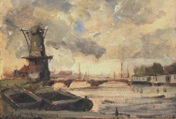 Jan Roelandse - Plasgezicht omg. Leiden