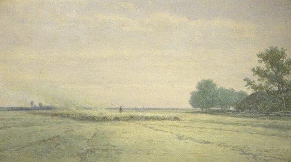 Willem Roelofs - Willem Roelofs doet stof opwaaien
