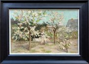 Bloeiende boomgaard bij Laren - Blaricum