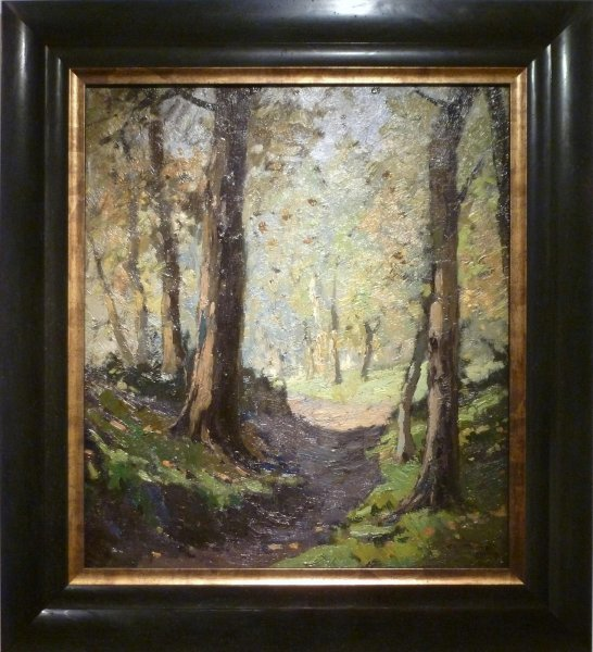 Chris Soer - Wandeling in het Haagse Bos