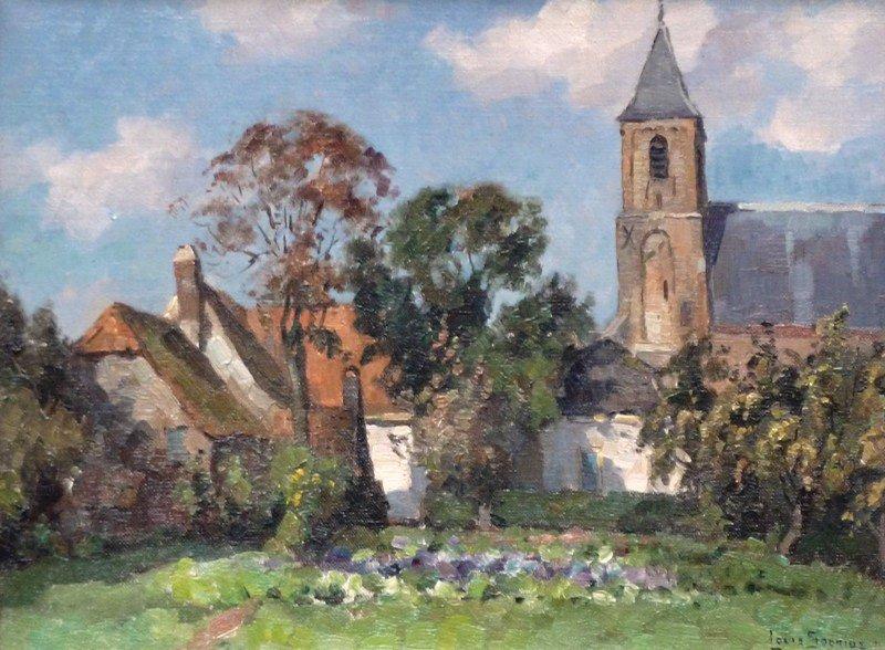 Louis Soonius - Hervormde kerk te Nootdorp-verkocht-