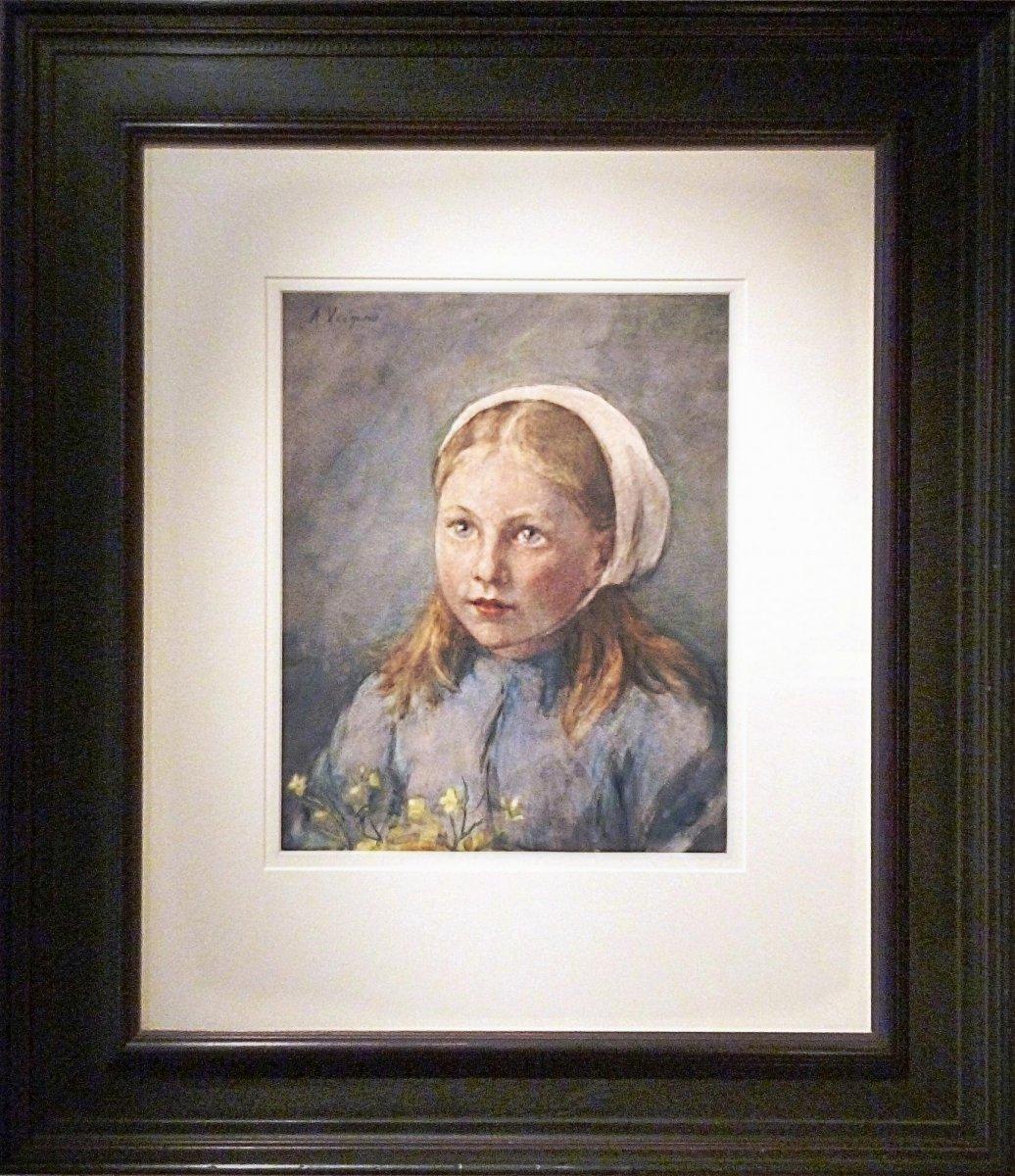 Anna Veegens - Het meisje met de boterbloemen<br>van Anna Veegens