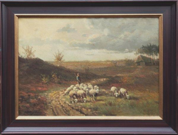 Cor Bouter - Op weg naar de schaapskooi
