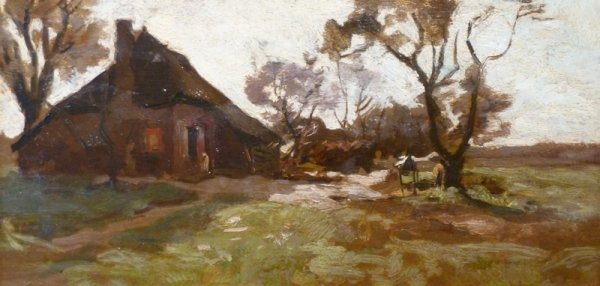 Jan van Vuuren - Boerenerf op de Veluwe