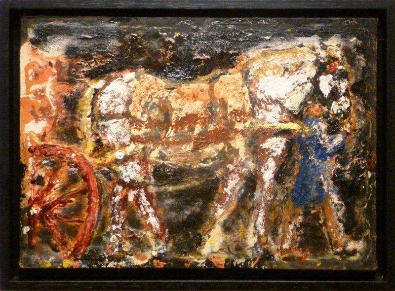Gerard Westermann - Man met paard en wagen