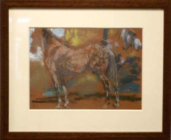 Gerard Westermann - 2 portretten van paarden