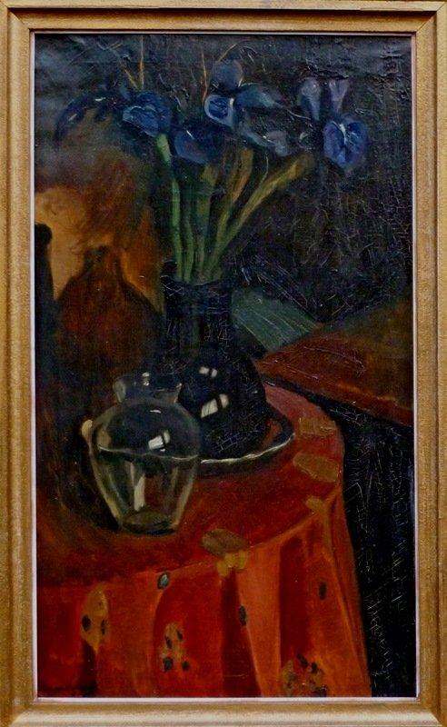 Piet van Wijngaerdt - Paarse Irissen