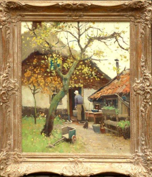 A.J. Zwart - Boerenerf te Woerden